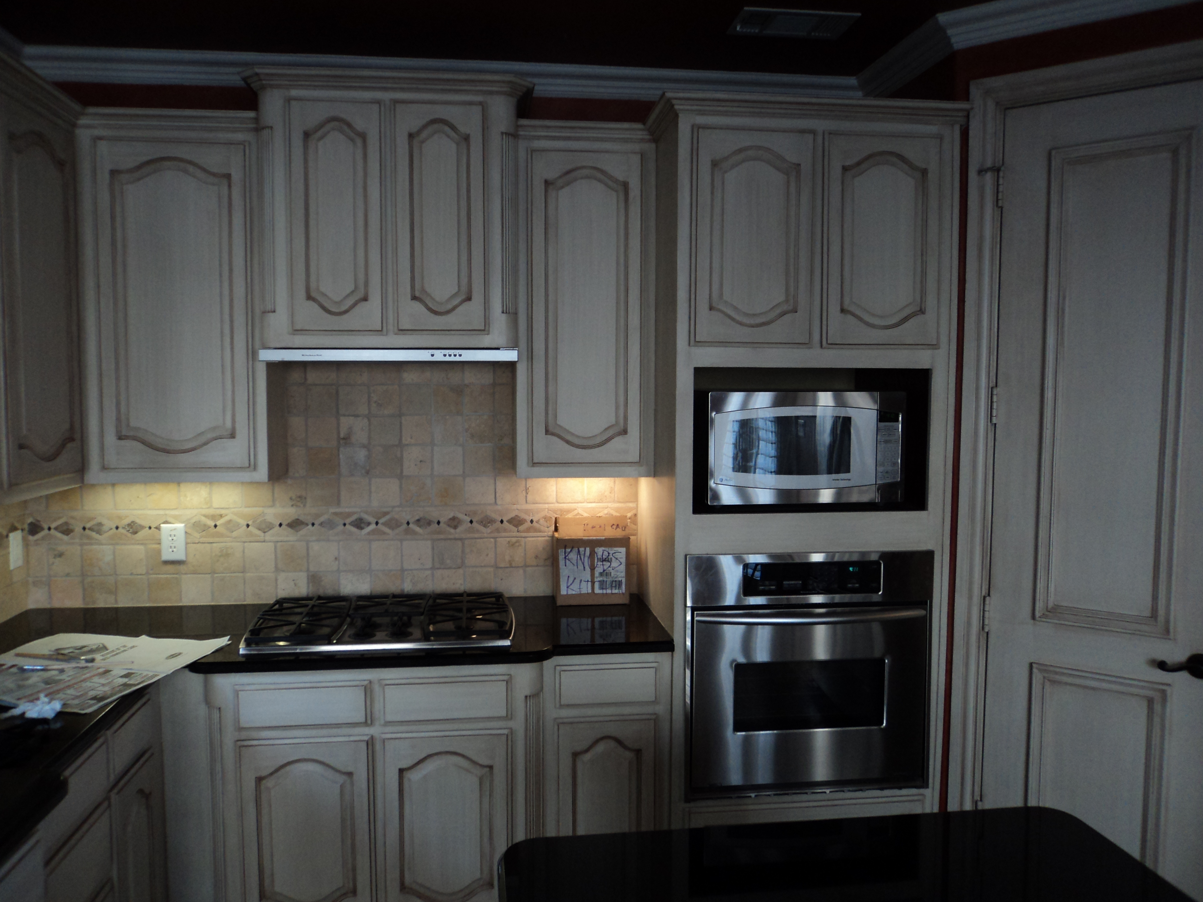 Gray Stained Oak Cabinets Gray Stained Oak Cabinets