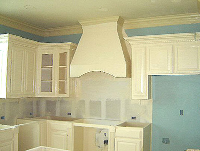 Kitchen Cabinets Ideas Cream With Blue Walls Gallery III